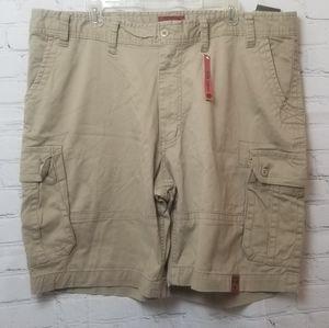 the foundry men's cargo shorts size 46 new